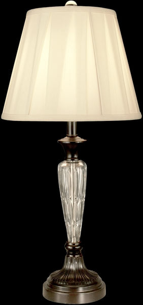 Dale Tiffany 1-Light Crystal Table Lamp Oil Rubbed Bronze GT11222