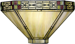 Dale Tiffany Mission Tiffany Wall Sconce 86761LTW