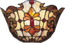"13""w Leland Tiffany Wall Sconce"