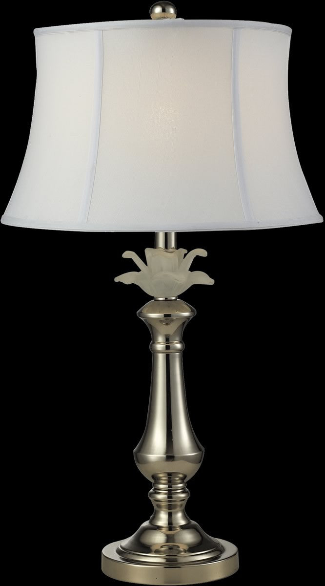 Save On Dale Tiffany White Flower Table Lamp Antique Bronze Pt14329