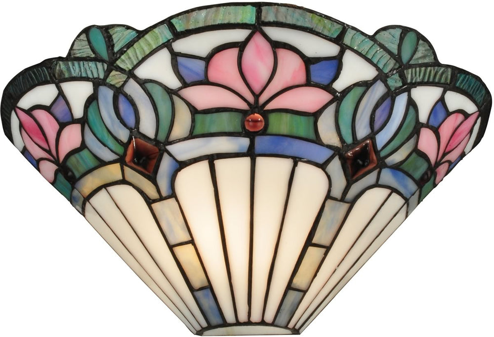 "14""w Windham 1-Light Wall Sconce White"