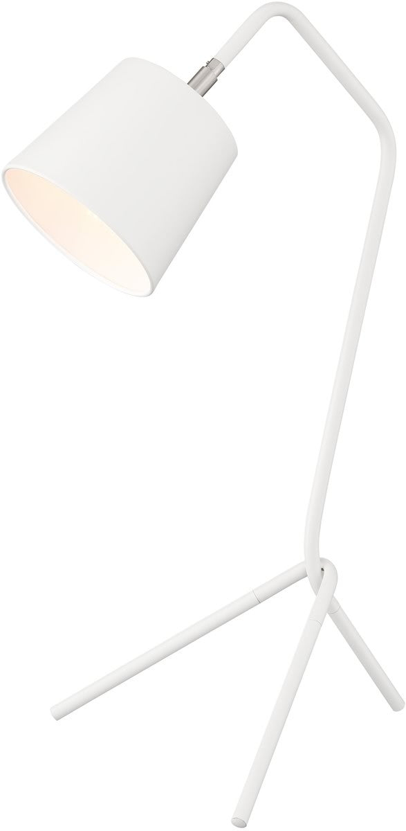 Quana 1-light Table Lamp White