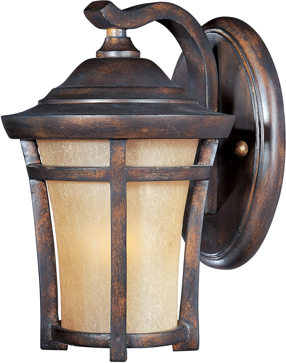 "10""H Balboa VX LED 1-Light Outdoor Wall Mount Copper Oxide"