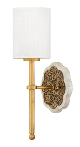 Alba 1-Light Sconce in Cleopatra Gold
