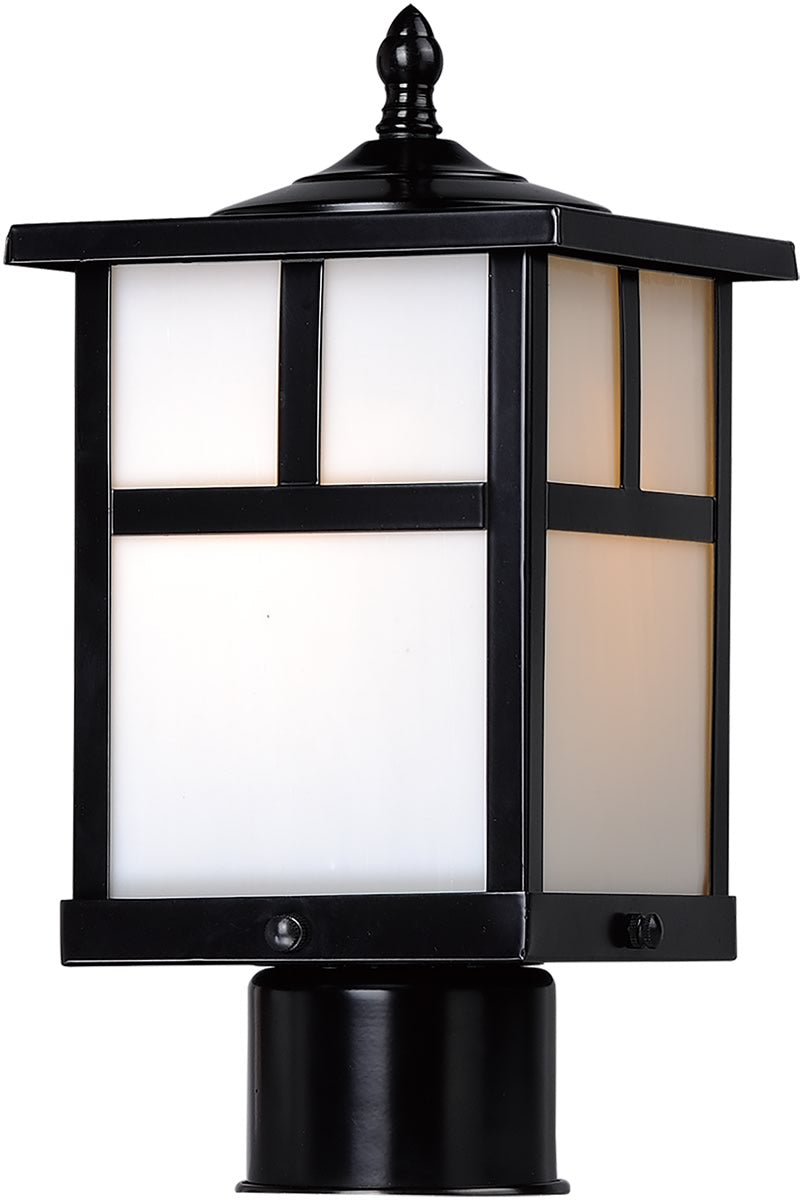 Coldwater 1-Light Outdoor Pole/Post Lantern Black