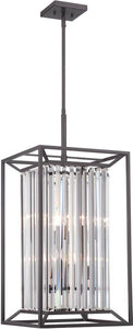 "14""w Linares 4-Light Hall & Foyer Vintage Bronze"