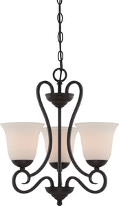 Designers Fountain Addison 3-Light Chandelier Oil Rubbed Bronze