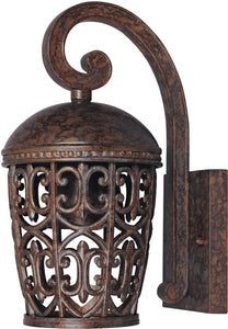 Designers Fountain 6 inchw Amherst 1-Light Wall Lantern Burnt Umber 97591BU