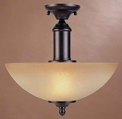 Designers Fountain Apollo Semi Flush Mount Oil Rubbed Bronze 94011ORB