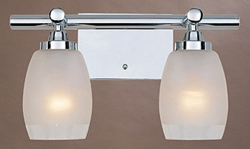 Designers Fountain Astoria 2-Light Bath Strip Chrome 6452CH