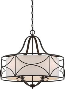 Designers Fountain Avara 4-Light Chandelier Oil Rubbed Bronze 88684-ORB