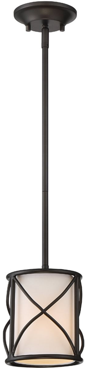 "6""W Avara 1-Light Mini Pendant Oil Rubbed Bronze"