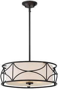Designers Fountain Avara 3-Light Pendant Oil Rubbed Bronze 88631-ORB