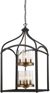 Designers Fountain Avondale 8-Light Chandelier Oil Rubbed Bronze 87658-ORB