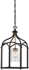 Designers Fountain Avondale 1-Light Pendant Oil Rubbed Bronze 87651-ORB