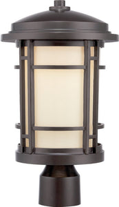 Designers Fountain Barrister  LED Outdoor Burnished Bronze