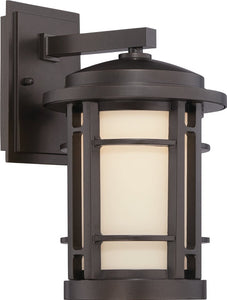 Barrister  LED Outdoor Burnished