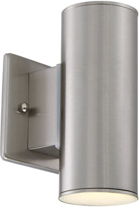 Designers Fountain Barrow -Light Wall Sconce Satin Platinum LED33001C-SP
