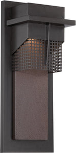 Designers Fountain 7 inchw BeaconWall Lantern Burnished Bronze LED32621BNB