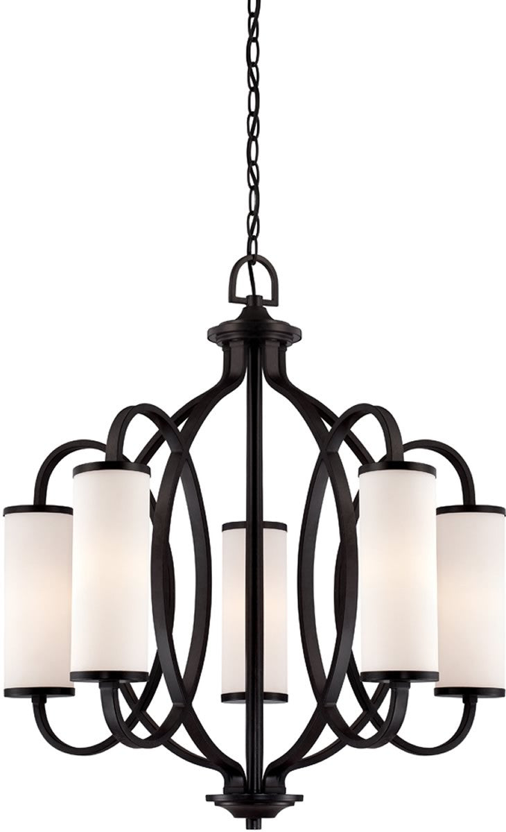 "27""w Bellemeade 5-Light Chandelier Artisan"