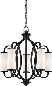 Designers Fountain Bellemeade 5-Light Chandelier Artisan 84485ART