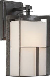 Designers Fountain Braxton 1-Light Wall Sconce Charcoal 31821CHA