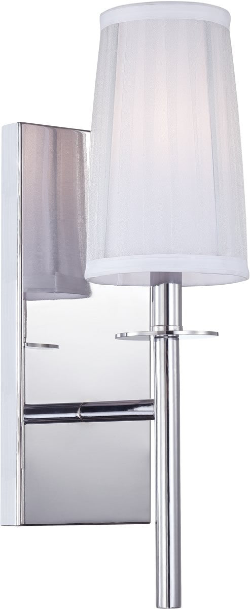 "7""w Candence 1-Light Wall Sconce Chrome"