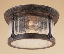 Designers Fountain Canyon Lake 2-Light Flush Mount Chestnut 20935CHN