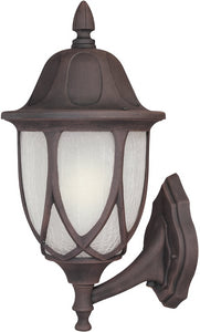 Designers Fountain 9 inchw Capella 1-Light Wall Lantern Autumn Gold 2868AG