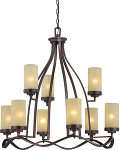 Designers Fountain Castello 9-Light Chandelier Tuscana 83689-TU