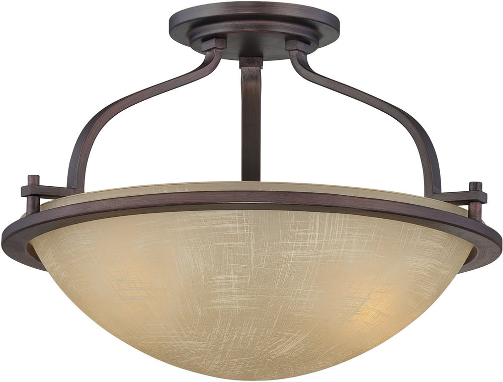 "16""w Castello 2-Light Semi-Flush Tuscana"