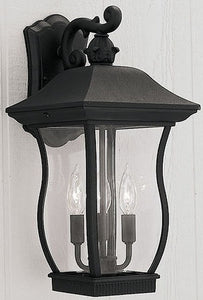 Designers Fountain Chelsea Outdoor Wall Lantern Black 2722BK