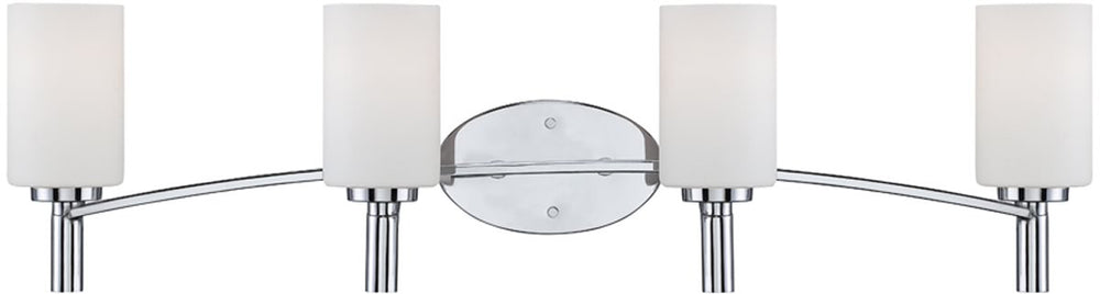 "33""W Cordova 4-Light Bath Vanity Chrome"