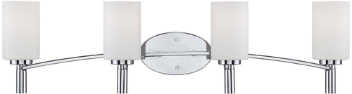 Designers Fountain Cordova 4-Light Bath Vanity Chrome 84504CH