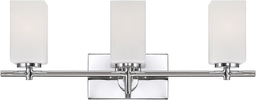 Designers Fountain Dakota 3-Light Bath Vanity Chrome 6733CH