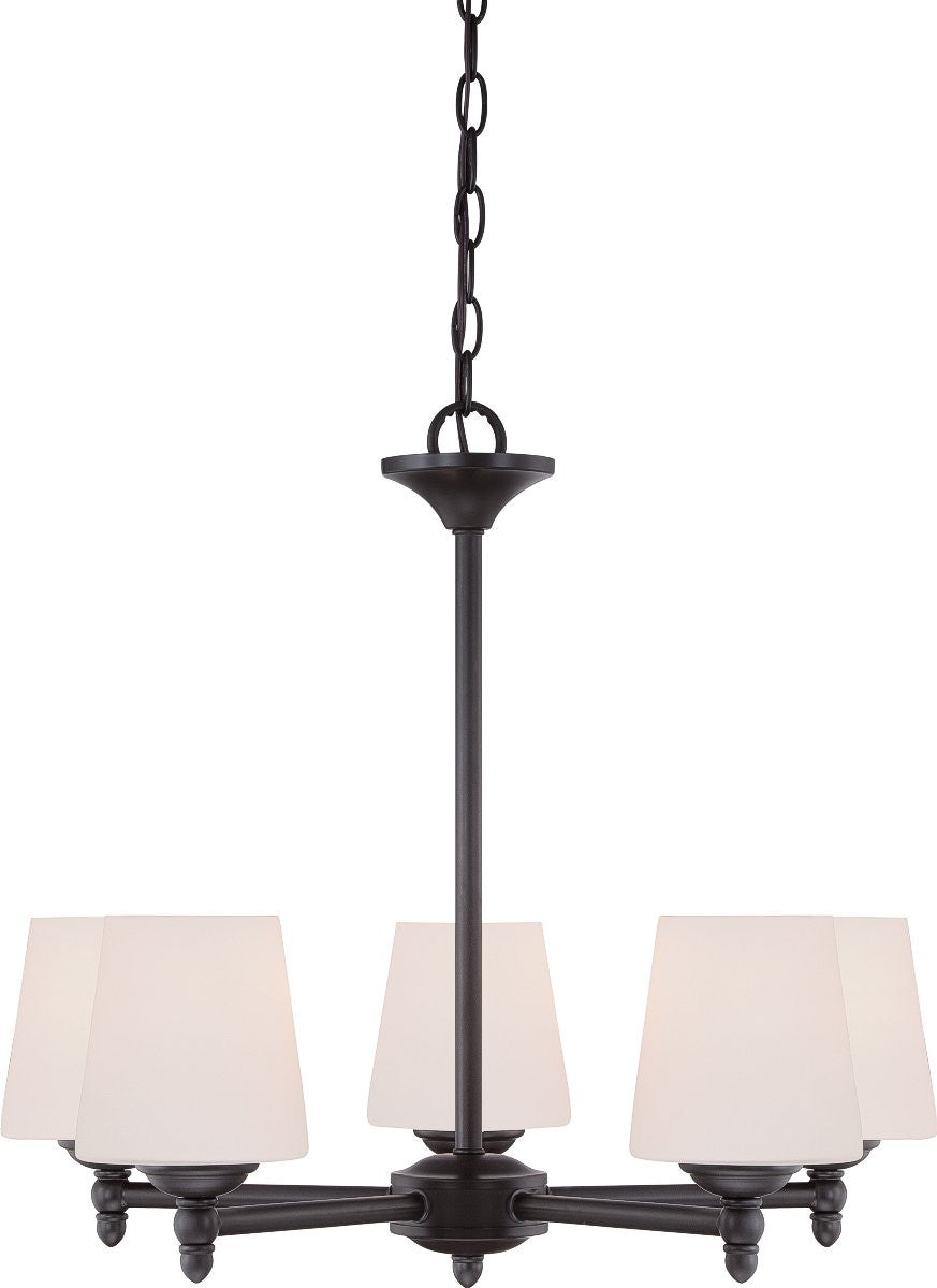 Designers fountain darcy chandelier oil rubbed bronze 15006534 darcy 5 light chandelier oil rubbed mozeypictures Gallery