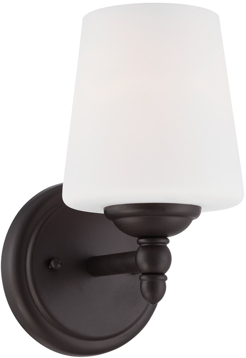 "5""W Darcy 1-Light Wall Sconce Oil Rubbed Bronze"