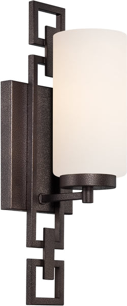 Designers Fountain Del Ray 1-Light Wall Sconce Flemish Bronze 83801FBZ