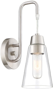Designers Fountain Echo -Light Wall Sconce Satin Platinum 87801-SP