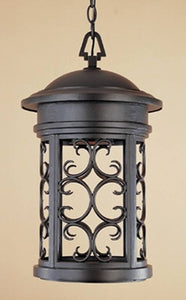 Designers Fountain Dark Sky Ellington 1-Light Dark Sky Outdoor Light Oil Rubbed Bronze 31134ORB
