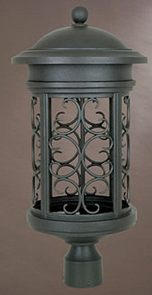 "23""h Ellington Outdoor Post Lantern Oil Rubbed Bronze"