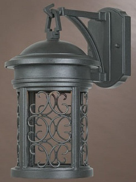 "13""h Ellington Dark Sky Outdoor Wall Lantern Oil Rubbed Bronze"