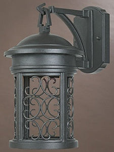 Designers Fountain Ellington Dark Sky Outdoor Wall Lantern Oil Rubbed Bronze 31111ORB