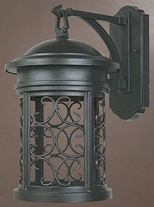 "16""h Ellington Dark Sky Outdoor Wall Lantern Oil Rubbed Bronze"