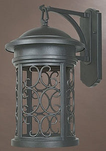 Designers Fountain Ellington Dark Sky Outdoor Wall Lantern Oil Rubbed Bronze 31131ORB