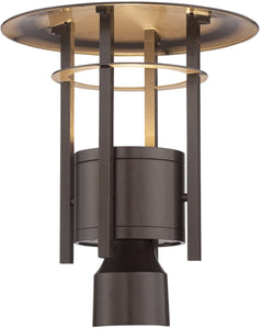 Designers Fountain Englewood -Light Outdoor Post Light Burnished Bronze LED34036-BNB