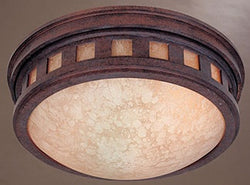 Designers Fountain 2-Light Flush Mount Mediterranean Patina 2375AMMP