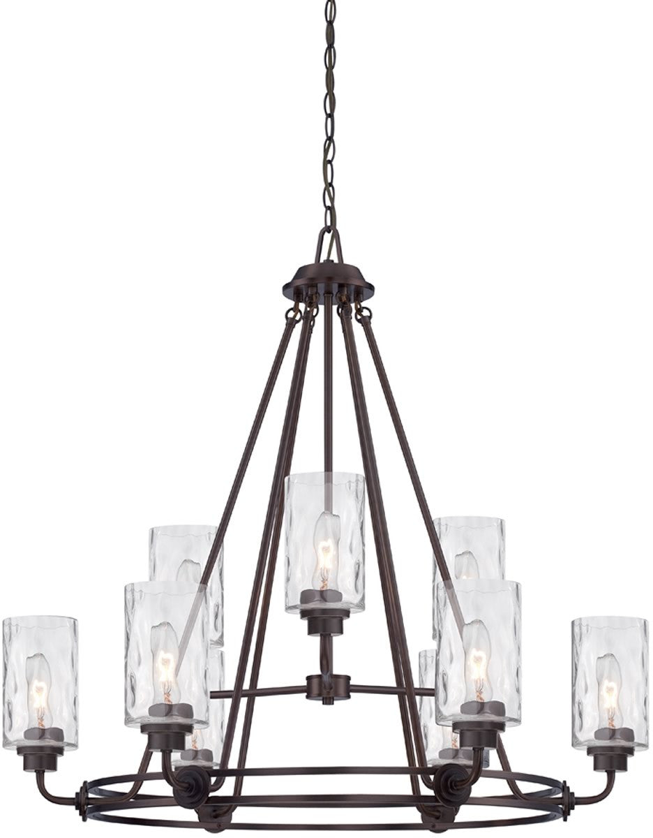 Gramercy Park 9-Light Chandelier Old English Bronze