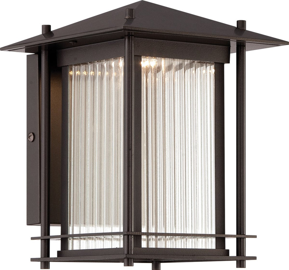 Hadley  LED Outdoor Burnished