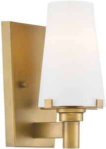 Designers Fountain Hyde Park 1-Light Wall Sconce Vintage Gold 87901-VTG